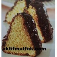 Yağsız Kek (Çikolata Kaplı)