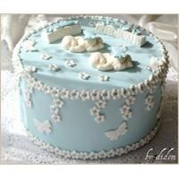 İkiz Bebek Pastası, Kurabiyeleri Ve Cupcakeleri