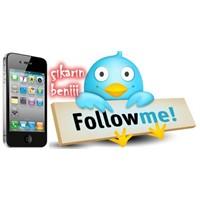 İphone'da Twitter'dan Çıkış Yapmak