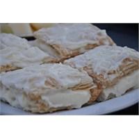 Kremali Milföy Pasta..Çok Lezzetli Ve Çok Pratik