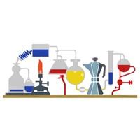 Google'dan Robert Bunsen Logosu