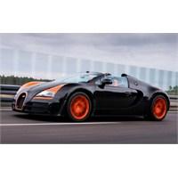 Bugatti`den Şimdi De Üstü Açık Hız Rekoru!