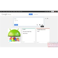 Google Keep Hizmeti Göründü Ve Kayboldu...