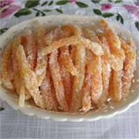 Portakal Kabuğu Şekerlemesi