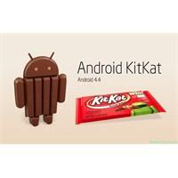 Hangi Telefonlar Android 4.4 Kitkat Güncellemesi
