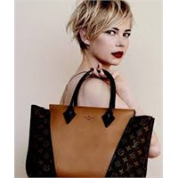 Louisvuitton'un Yeni Reklam Yüzü Michelle Williams