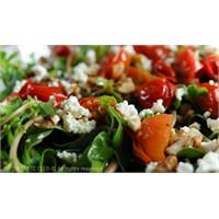 Yeşil Mercimekli Semizotu Salatası