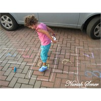 Sokak Oyunları- Tebeşirle Şekilcikler ve Seksek