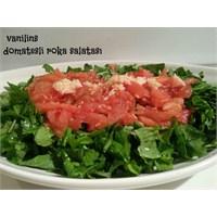 Domates Soslu Roka Salatası