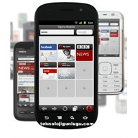 Opera Mini Java Uyumlu Cep Telefonları İçin İntern