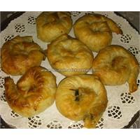 İspanaklı Patatesli Gül Böreği