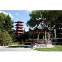 Chinese Pavillion And Japanese Tower