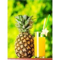 Ananas Suyu İle Güzelleşin