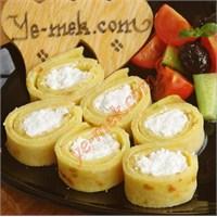 Krep Ustasından Peynirli Pırasalı Krep (Resimli)