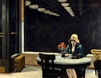 Edward Hopperın Otomat İsimli Resim Tablosu
