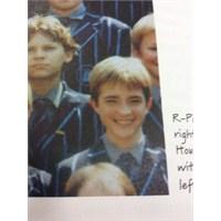 Robert Pattinson'ın Çocukluk Resmi
