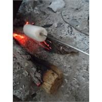Ateşte Marshmallow Mutfak