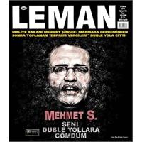 Leman Dergisi Deprem Vergileri Konulu Kapağı