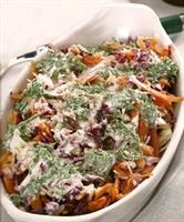 Lahana Salatası (cevizli)