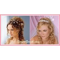Gelin Saç Modelleri - Topuzlu Saç Modelleri
