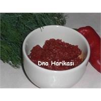 Lütenitsa- Kahvaltılık Salça Tarifi