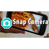 Android İçin Fotoğraf Çekme Programları Snap Camer
