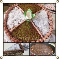 Mozaik Doğum Günü Pastası