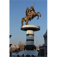 Makedon İmparatoru Büyük İskender Ve Üsküp