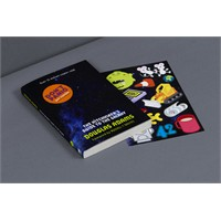 Kitap Kapağına Sticker Yapıştırmaca!!!