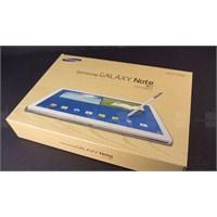 Samsung Galaxy Note 10.1'in Fiyatı Ve Özellikleri