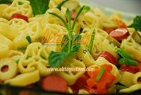 Turşulu Sosisli Makarna Salatası