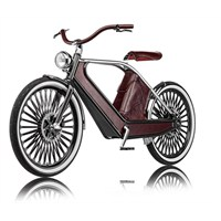 Retro Görünümlü Elektrikli Bisiklet