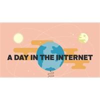 İnternette 1 Günümüz Nasıl Geçiyor ? İnfografik