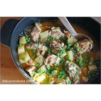 Patatesli Baharatlı Tavuk