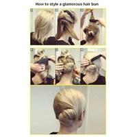 Pratik Saç Modelleri #1
