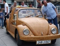 Tahtadan Volkswagen Beetle
