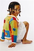 Rengarenk Örgü Çocuk Hırka Örnekleri