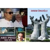 Abdi İpekçi Parkı'ndaki Eller Adalet Arıyor !