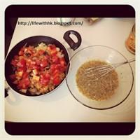 Öğrenci İşi Yemek Tarifleri: Sebzeli Omlet
