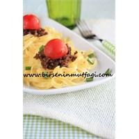 Kuş Yuvalı Spagetti - Birsenin Mutfağı