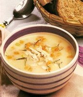Kremalı Patates Çorbası(tavuklu)