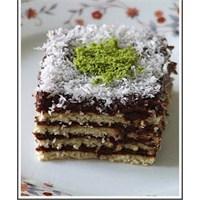 İkramlık Bisküvili Kek