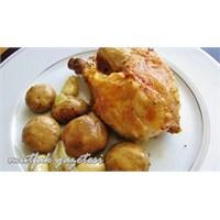 Mantarlı Tavuk Roti (Fırında Kızarmış Tavuk)