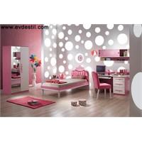 Kız Çocuklar İçin Çocuk Odası Modelleri