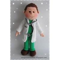 Amigurumi Doktor Bey