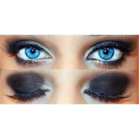 Gece Uygulanabilecek Göz Makyajı Resimli Anlatım