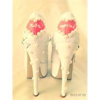 2013 Özel Tasarım Gelin Ayakkabısı Modelleri