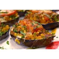 Patlıcanlı Sandal Makarna