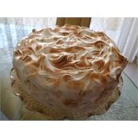 Merengli Vişneli Pasta