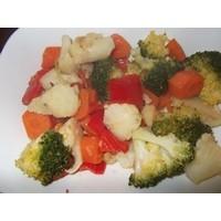 Kereviz Salatası Ve Karışık Sebze Yemeği